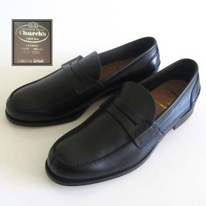 CHURCH'S Pembrey penny loafers 110 F 12 US England